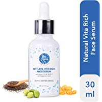 The Moms Co. Natural Vita Rich Face Serum to Repair and Replenish with Vitamins C, B3, B5 and E and Hyaluronic Acid (30 Ml)