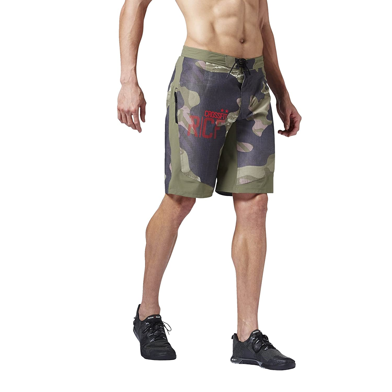 Reebok Herren Crossfit Super Nasty Tactical Camo Surfer/Board-shorts