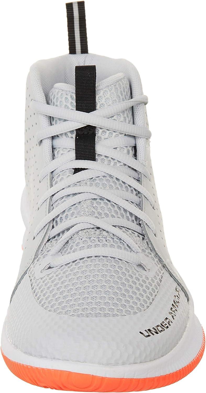 Halo Gray//White//Black Under Armour Jet Gris Zapatos de Deporte para Hombre 42 EU
