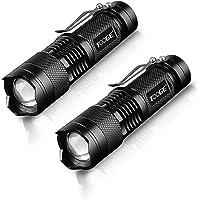 Tooge 懐中電灯 led 強力 ハンディーライト キャンプライト 小型 超高輝度 LED搭載 ズーム式 3モード 300m先まで照射 防犯 防災 防水