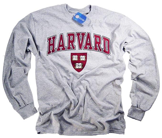 de61ddef Harvard Shirt T-Shirt Long Sleeve College University Crimson Crew NCAA Officially  Licensed Collegiate Product