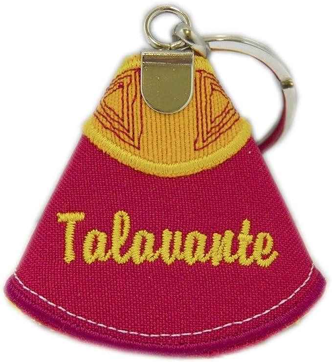 Llavero Capote TALAVANTE TAUROMAQUIA ESPAÑA 9,5CM: Amazon.es: Equipaje