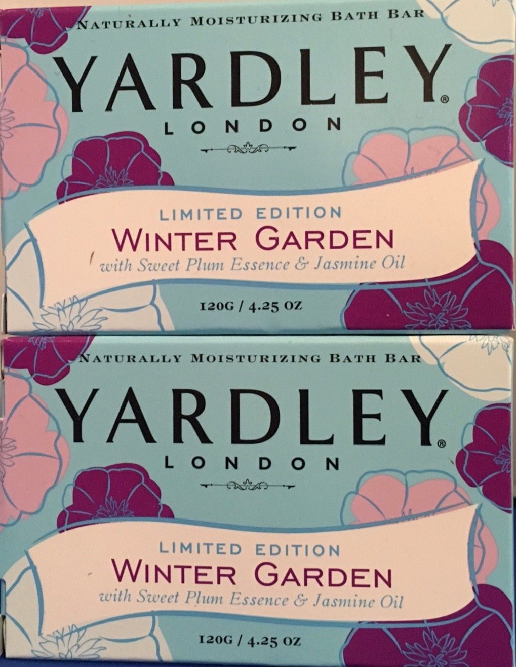 amazon com yardley winter garden limited edition bath soap set