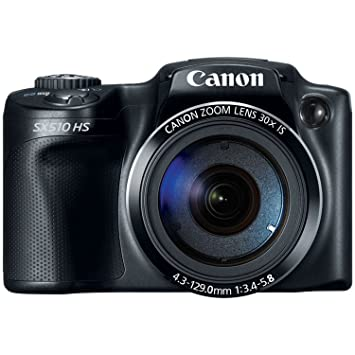 Canon PowerShot SX510 HS 12 1 MP CMOS Digital Camera (discontinued by  manufacturer)