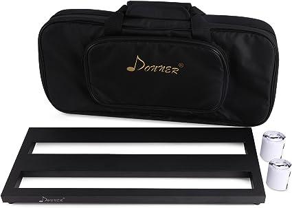 Donner-Pedalera de efecto Ligero y Portable para Guitarra con ...