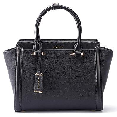 Amazon.com  Genuine Leather Women Handbag 1eefce6325537