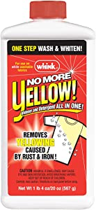 Whink 07221 20 Oz No More Yellow Stain Remover