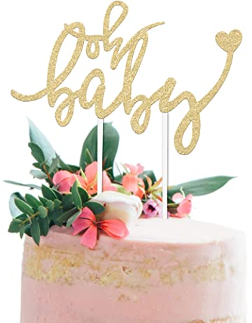 Baby Shower Cake Topper OH BABY
