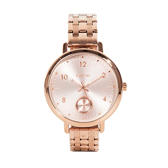 Parfois - Reloj Rose Gold Online Exclusive - Mujeres - Tallas Única - Dorado: Amazon.es: Relojes
