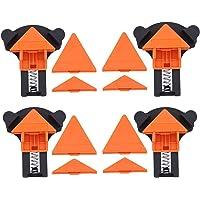 Hoekklem,4 Stks Set Multi-Angle 60/90/120 Graden Haakse Klem Corne Fixer DIY Gereedschap Hoekklem voor Houtbewerking…
