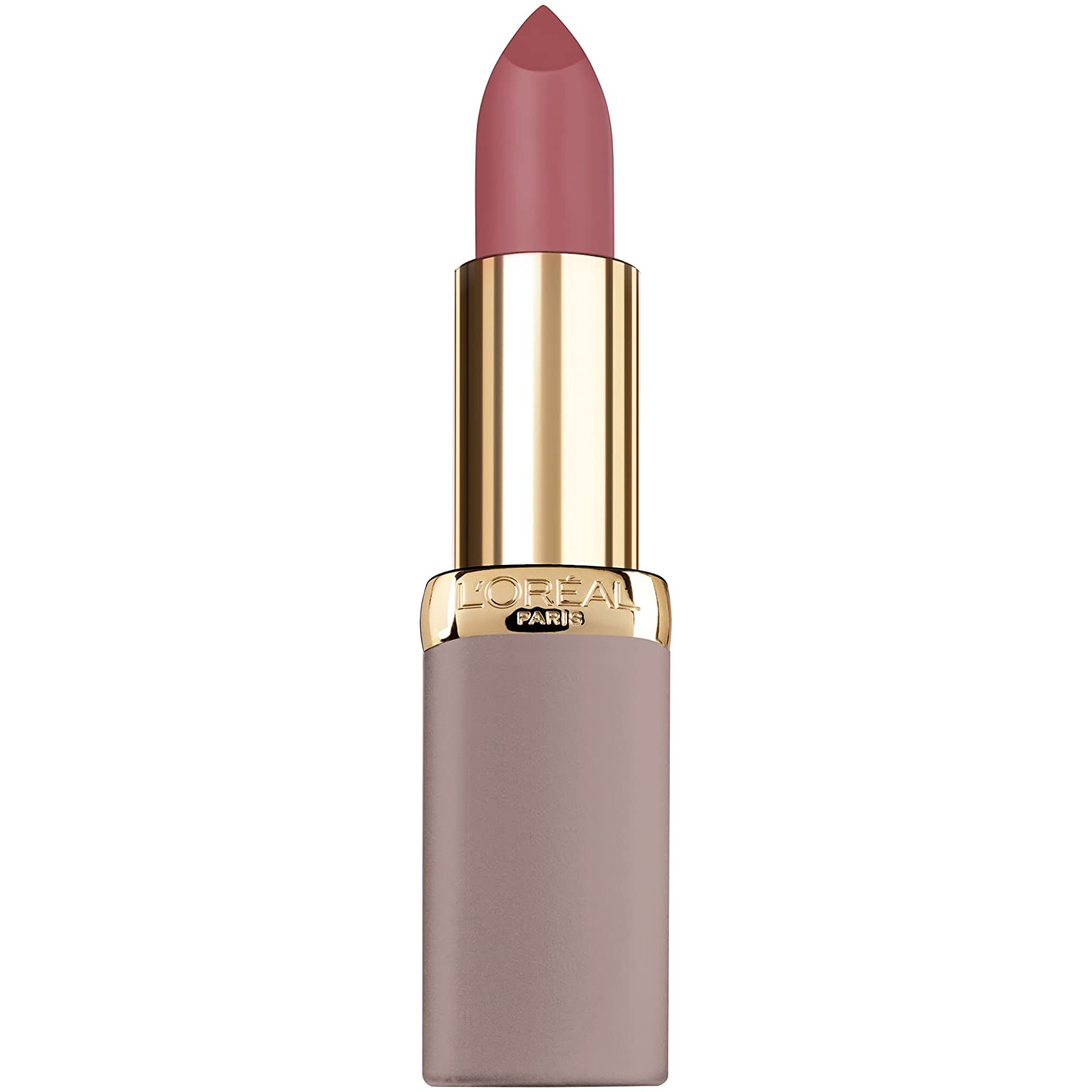 L'Oreal Paris Cosmetics Colour Riche Ultra Matte Highly Pigmented Nude Lipstick, Power Petal, 0.13 Ounce