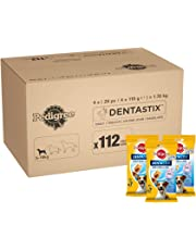 Pedigree DentaStix Daily Dental Chews for Small Dogs 5-10 kg, 28 Sticks, 4 x 110 g (Pack of 4)