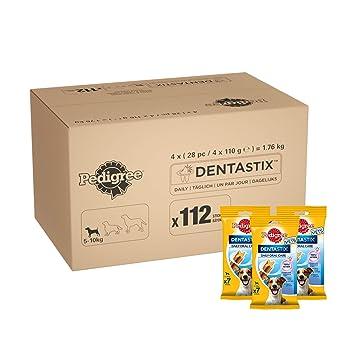 beccf183598 Pedigree DentaStix Daily Dental Chews for Small Dogs 5-10 kg, 28 Sticks,