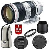 Canon EF 70-200mm f/2.8L is III USM Lens 3044C002 International Model