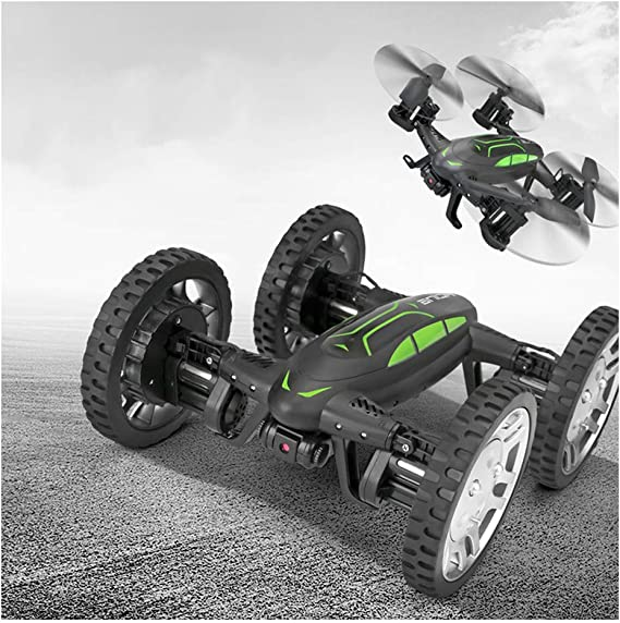 Sallymonday Imported Land Air Dual Mode RC Drone Car Support WiFi FPV Live Video Camera