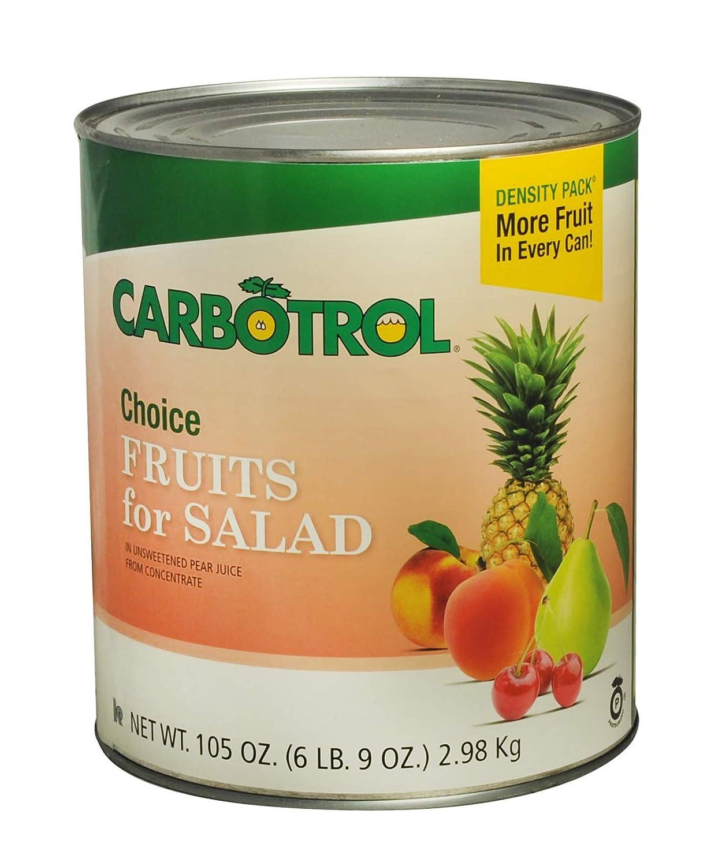 Fruit Carbotrol - Estuche para ensalada (6 unidades, 10 ...