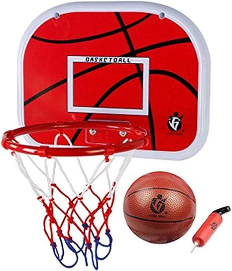 Mini Juego de baloncesto para habitaciones con pelota y bomba para ...