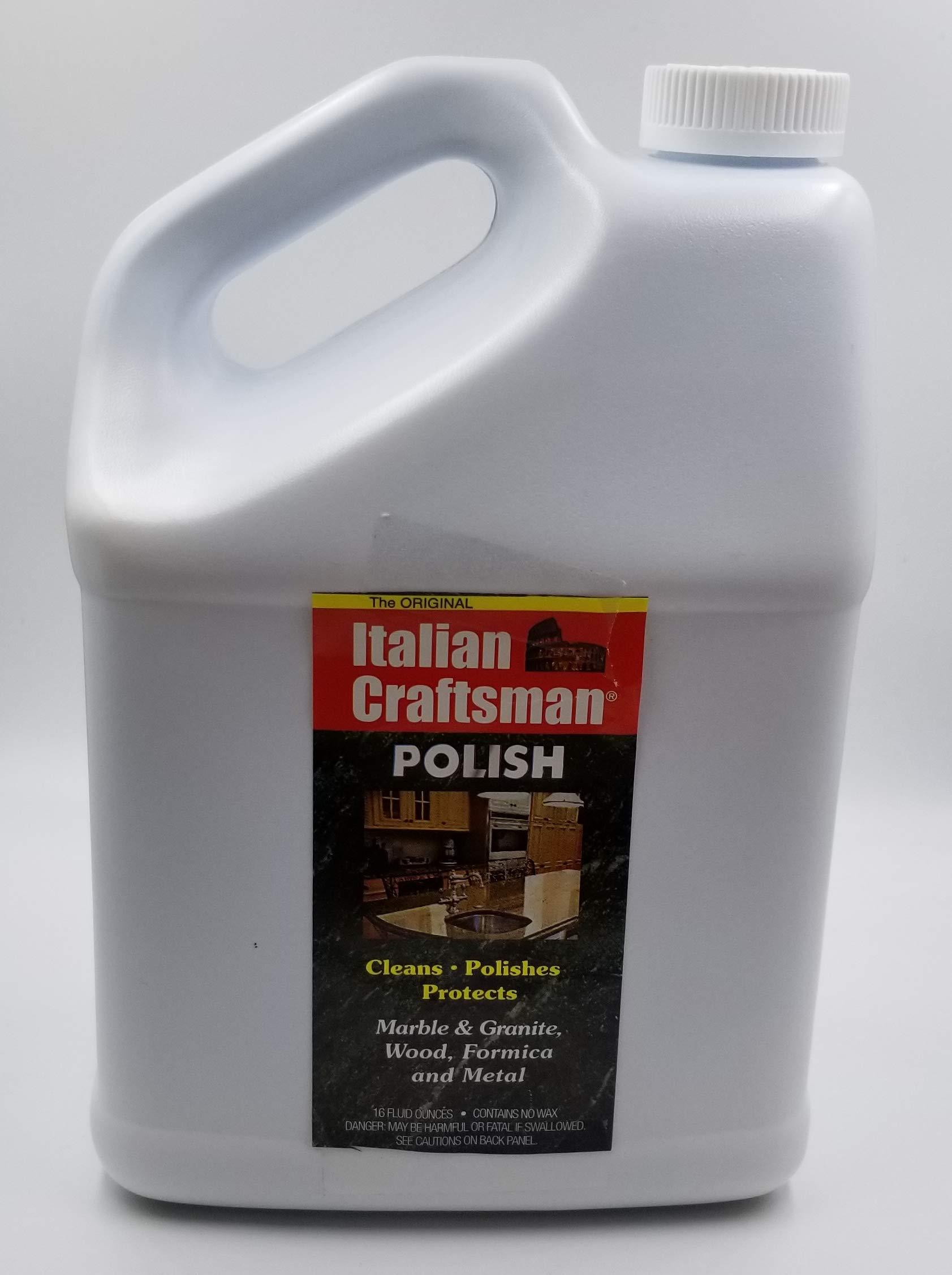 Italian Craftsman Stone and Wood Polish - Gallon