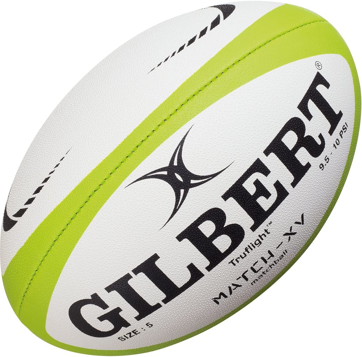 Gilbert Rugby Hand-Stitched Revolution X Match Ball Size 5