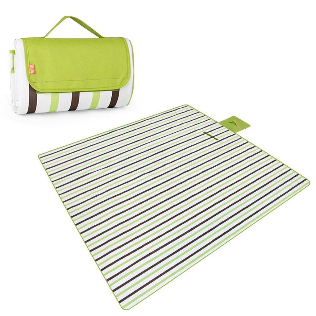WLHW Picknick-Matte imprägniern Oxford-Tuch Feuchtigkeit-Beweis Strand-Feld-Matte 200x200cm