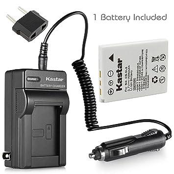 Amazon.com: Nueva batería + cargador para Nikon Coolpix S51 ...