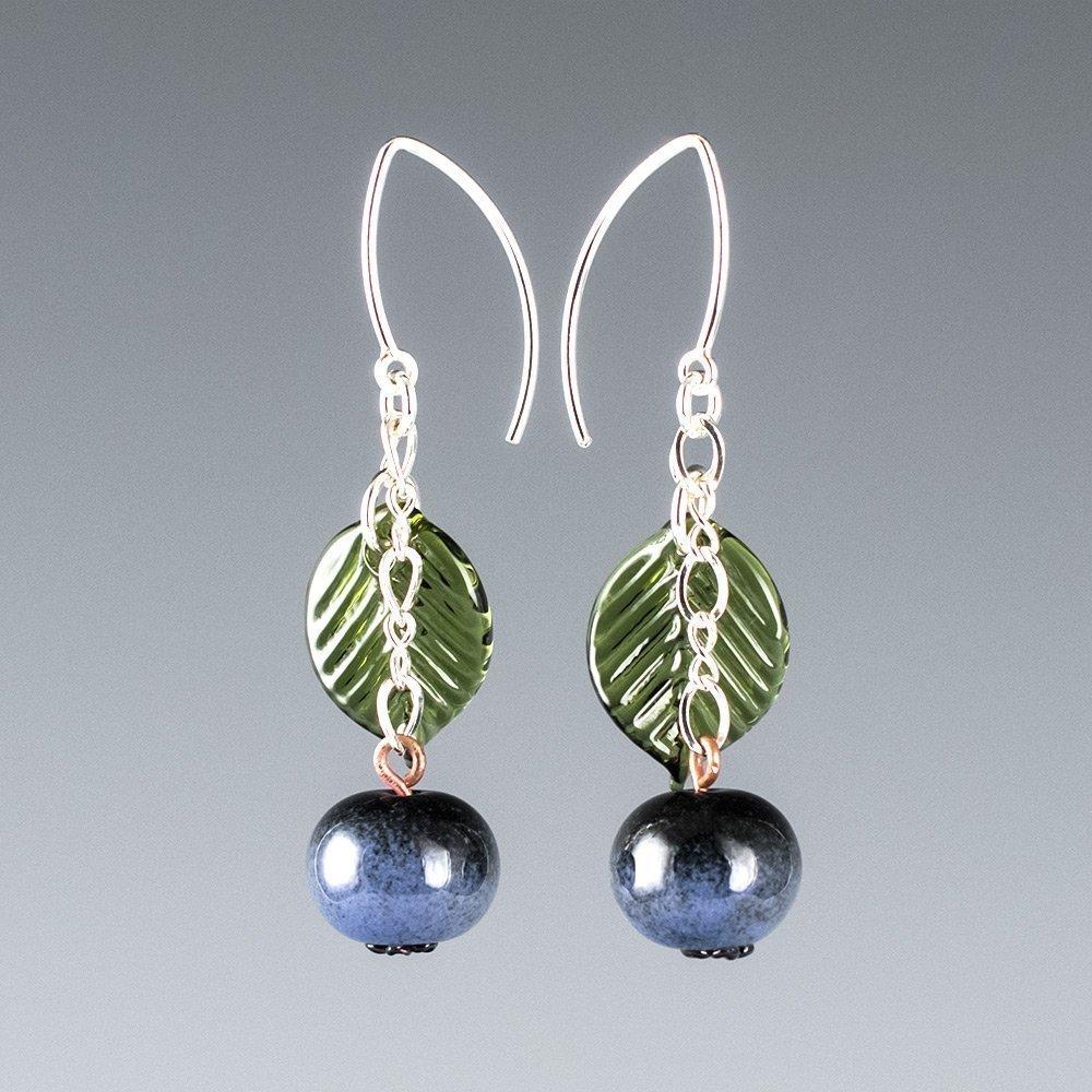 Blueberry Blossom Earrings