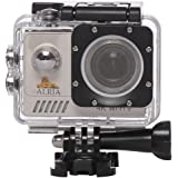 Ultra HD 4K WIFI Sports 16MP Action Camera IMX 179 Lens Waterproof DV Camcorder 170 Degree / 30fps/ 30m Wide Angle 2 inch LCD Screen/ Rechargeable Batteries included / Portable Package Include Full Accessories Mounting Kits - Silver