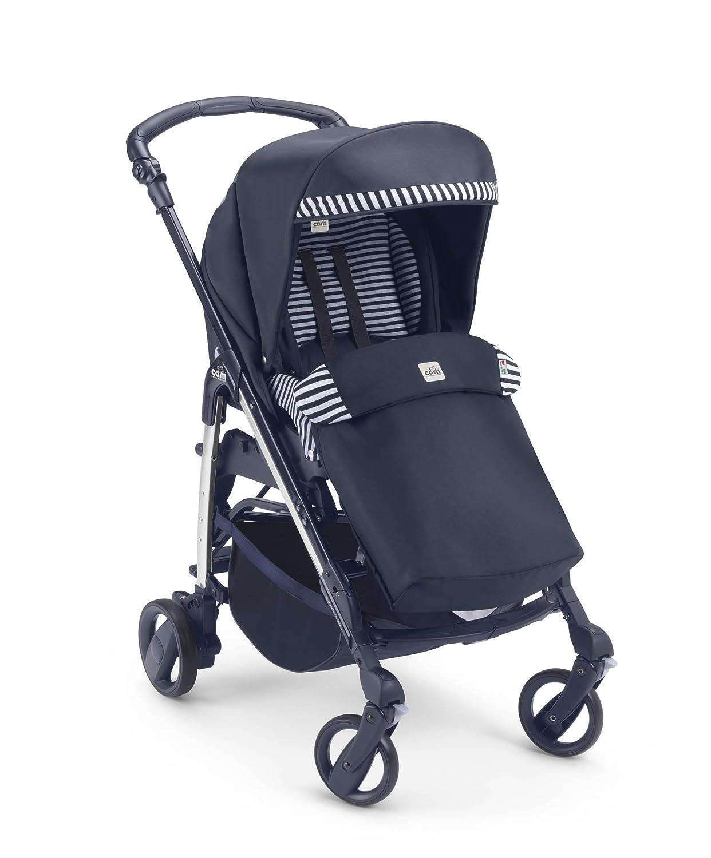 CAM Il Mondo del Bambino ART888020 Minuetto - Cochecito ligero de paseo con diseño a rayas, color gris: Amazon.es: Bebé