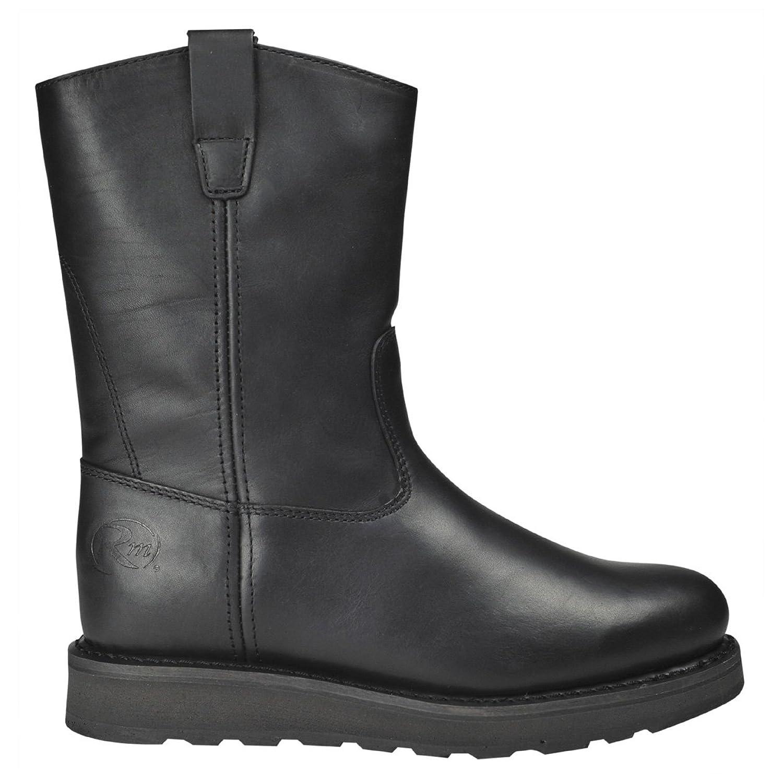 outlet Men's Road - Mate 10 inch Steel Toe Wellington Work Boots ...