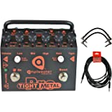 Amptweaker TightMetal Pro Tight Metal High Gain Distortion Pedal w/ 3 Cables