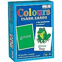 Creative's Colours Flash Cards (Multi-Color, 40 Pieces)