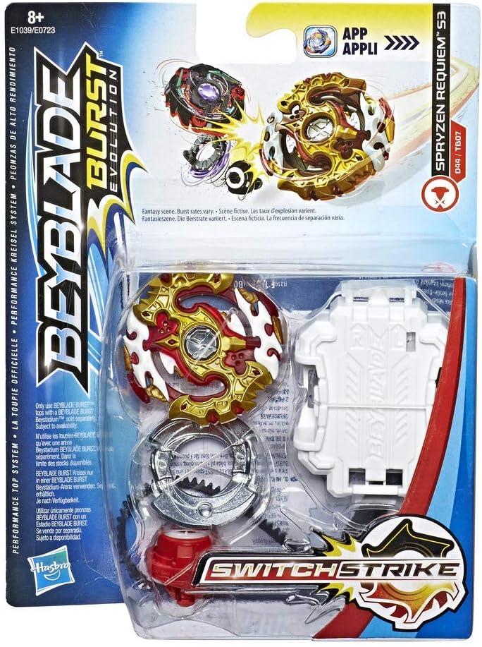 Beyblade- Spryzen Requiem S3 Peonza con Lanzador (Hasbro Modelos aleatorios)