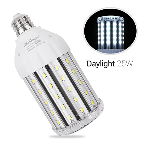 25w daylight led corn light bulb for indoor outdoor large area e26