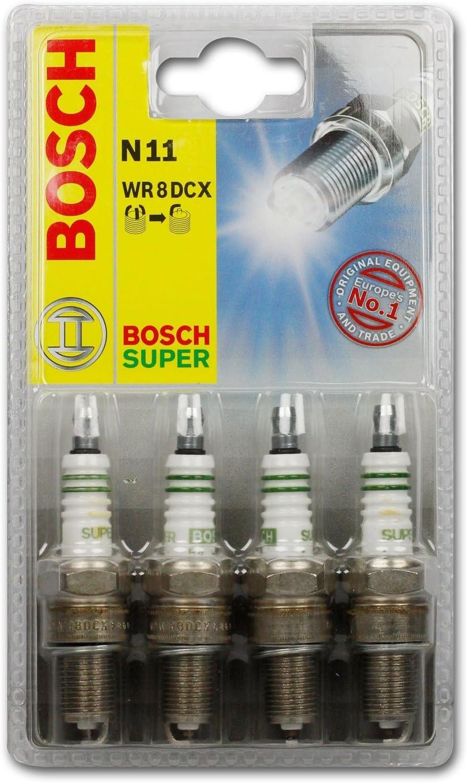 Bosch 0242229987 Spark Plug Set Of 4 Auto