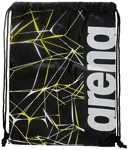Arena Fast Drawstring Water Print Swimbag Black