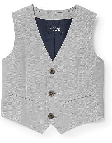 b89fb589f28 The Children s Place Boys  Baby Oxford Dressy Vest