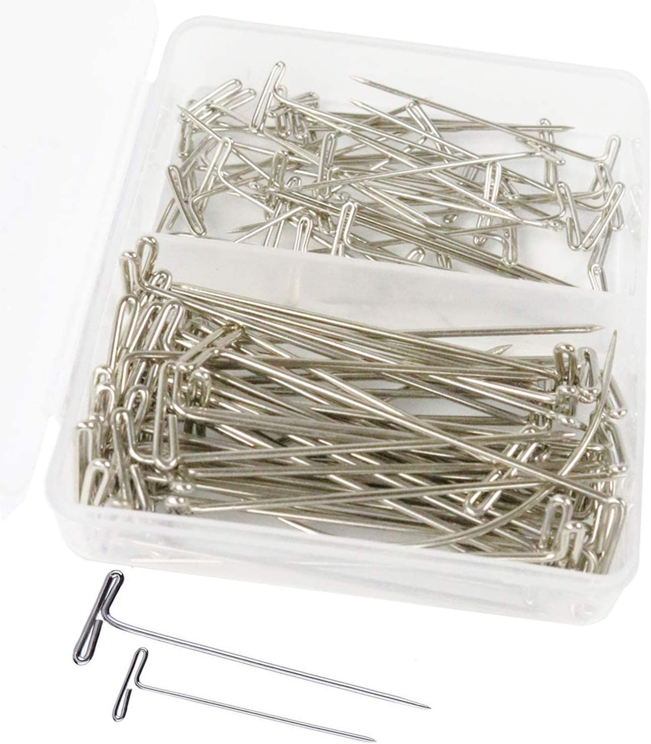 Multi-Purpose Clips,50 pcs Red Blinder Clips Paper Clips GLE2016 Sewing Clips