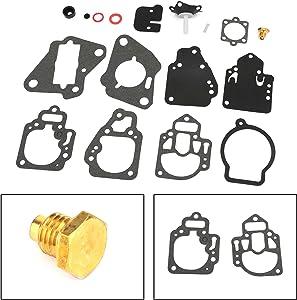 Bruce & Shark Carburetor Repair Gasket Kit for Mercury Mariner Outboard 6-25hp 1395-97611