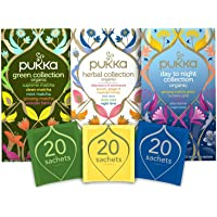 Pukka Thee Collections Bundel - 60 zakjes - 3 smaken x 20 zakjes