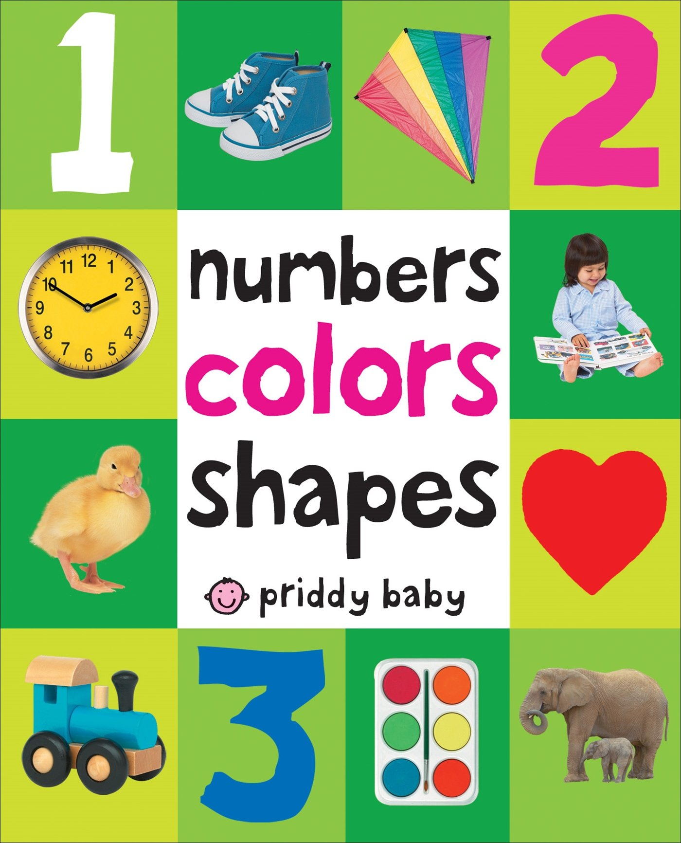 Amazon.com: Numbers Colors Shapes (First 100) (9780312510817): Roger ...