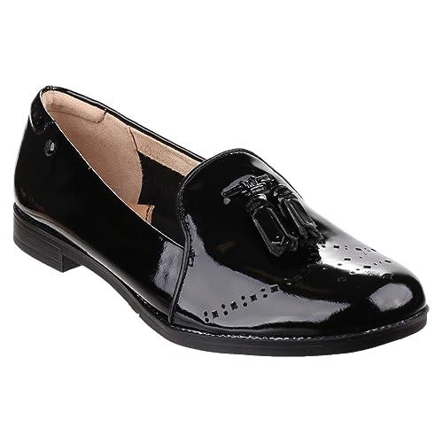 Hush Puppies Jetta Sloan, Mocasines para Mujer, Negro-Noir (Black Patent), 37 EU: Amazon.es: Zapatos y complementos