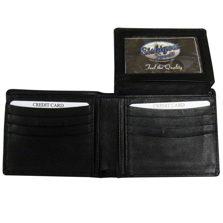 NFL Washington Redskins Leather Bi-fold Wallet