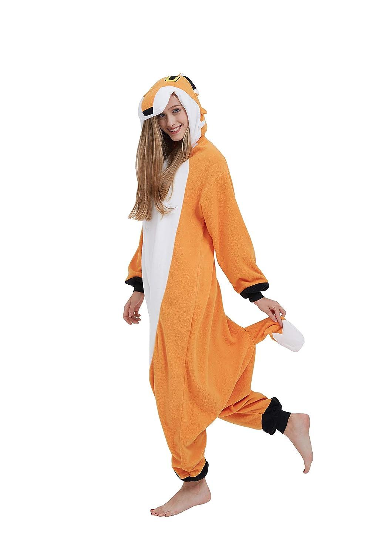 Fandecie Tier Kost U M Tierkost U M Tier Schlafanzug Fuchs Pyjamas