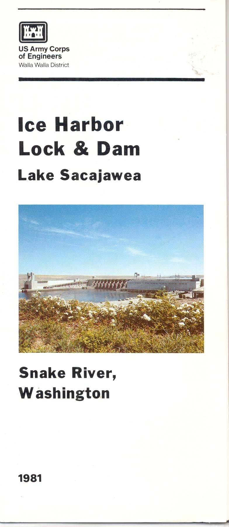 Snake River Washington Map.Ice Harbor Lock And Dam Lake Sacajawea Snake River Washington Us