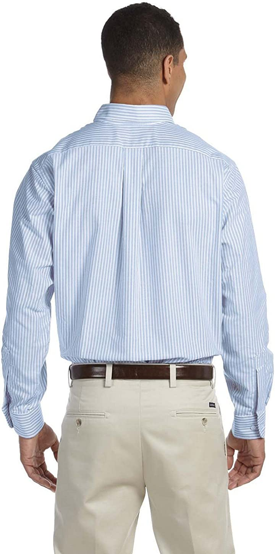 Van Heusen Mens Mens Long Sleeve Oxford Dress Shirt