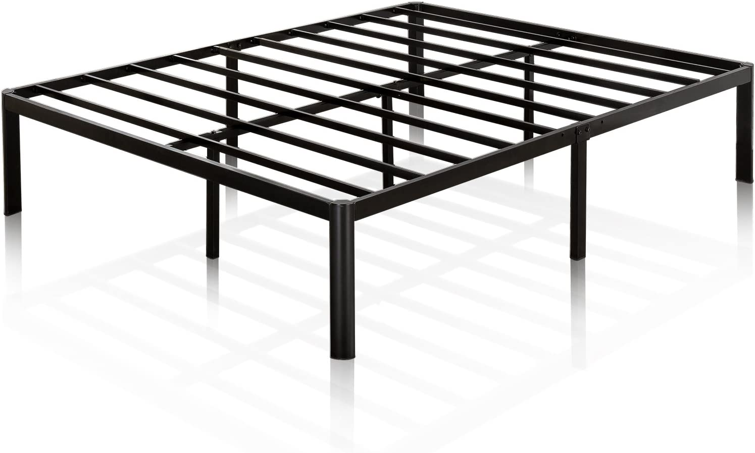 ZIYOO Box Spring Queen 9 Inch High Profile Easy Assembly,Mattress Foundation Heavy Duty Metal Steel Structure Quiet Noise-Free