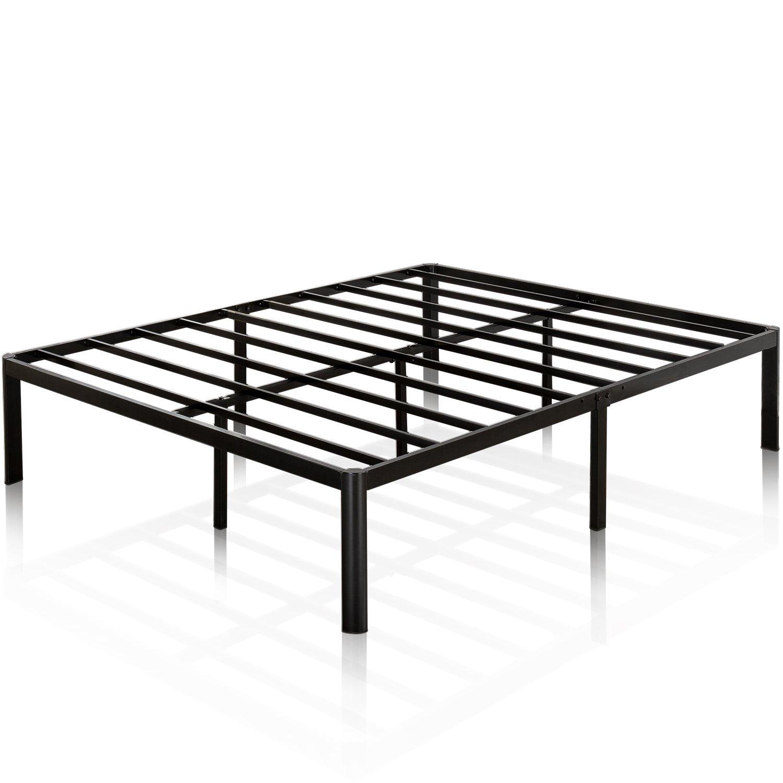 Zinus Van 16 Inch Metal Platform Bed Frame with Steel Slat Support Mattress Foundation, King