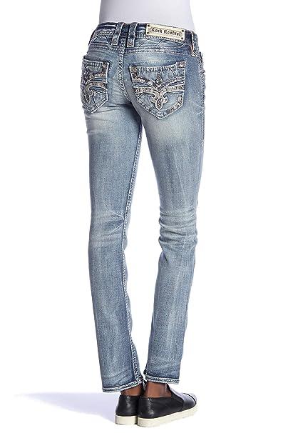 Amazon.com: Rock Revival – Pantalones vaqueros para mujer ...