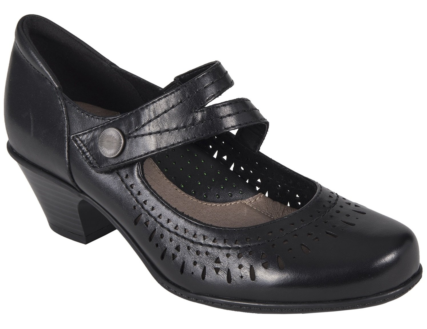 Earth Womens Dione Clog B074L7QPBH 10 W US|Black