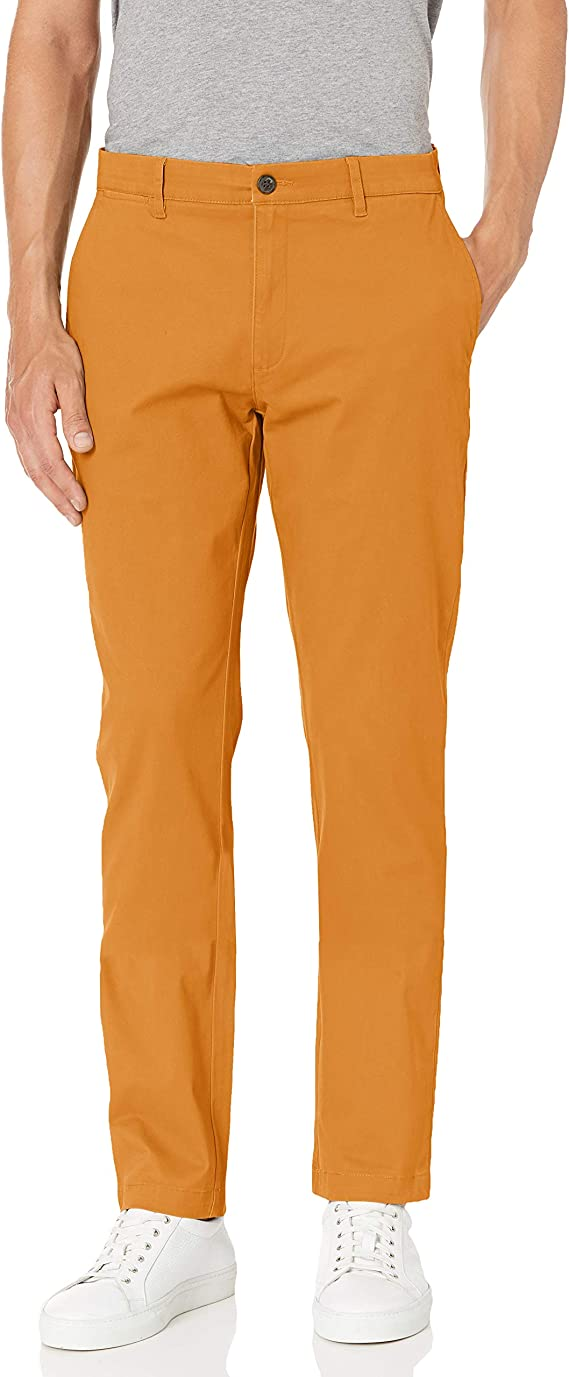 60s – 70s Mens Bell Bottom Jeans, Flares, Disco Pants Amazon Brand - Goodthreads Mens The Perfect Chino Pant